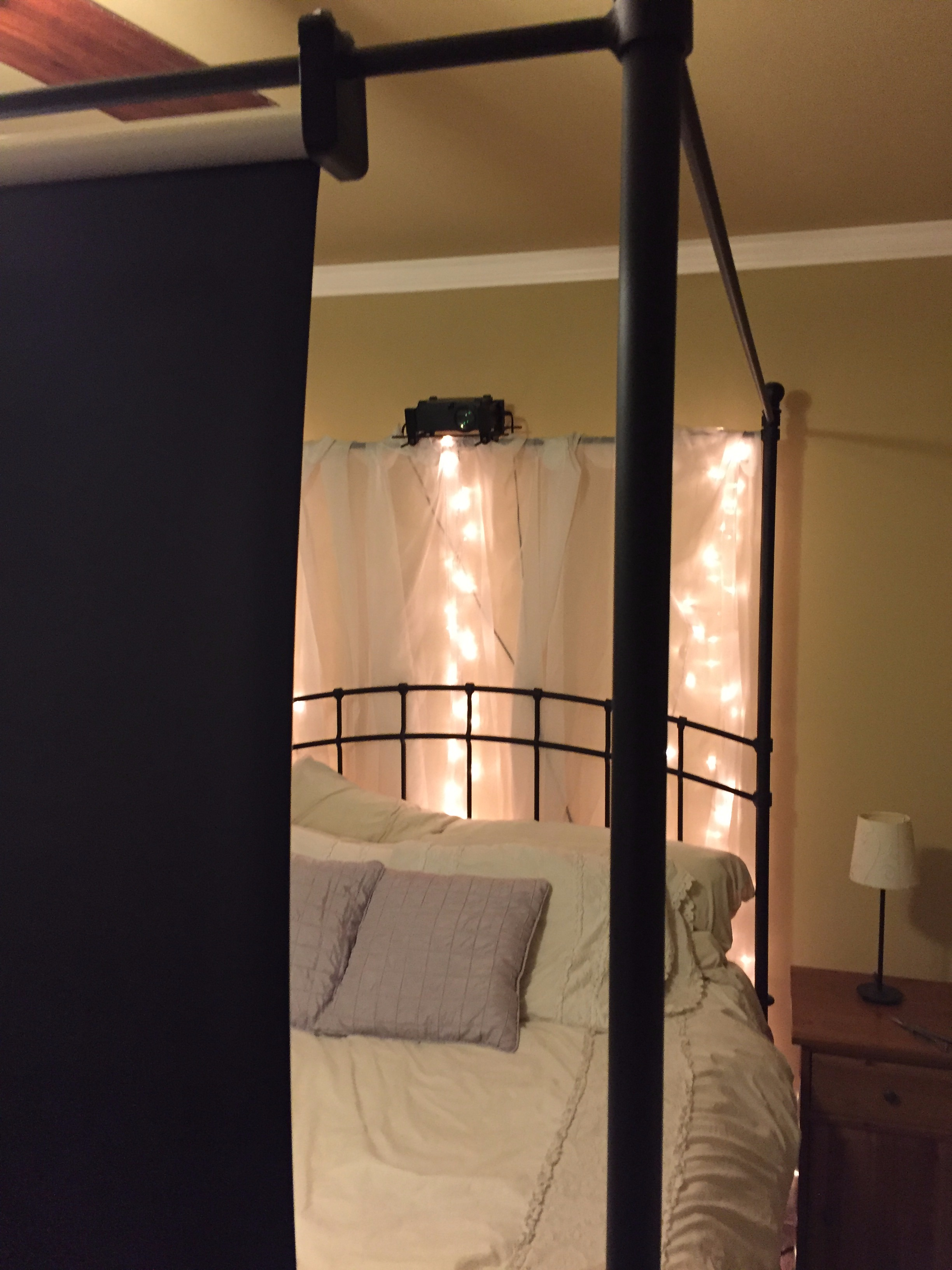 Picture of Mount It and Enjoy Your Home (Bed) Theater