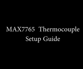 Arduino and MAX6675 Thermocouple Setup Guide