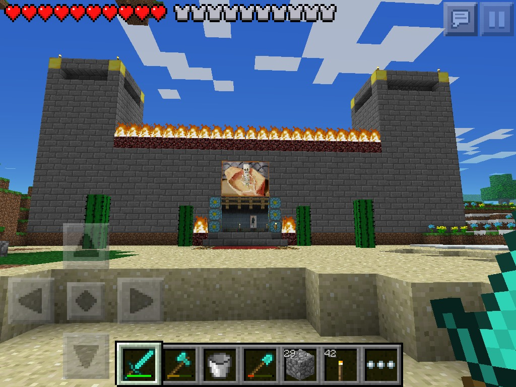 Picture of My Awesome Minecraft Castle
