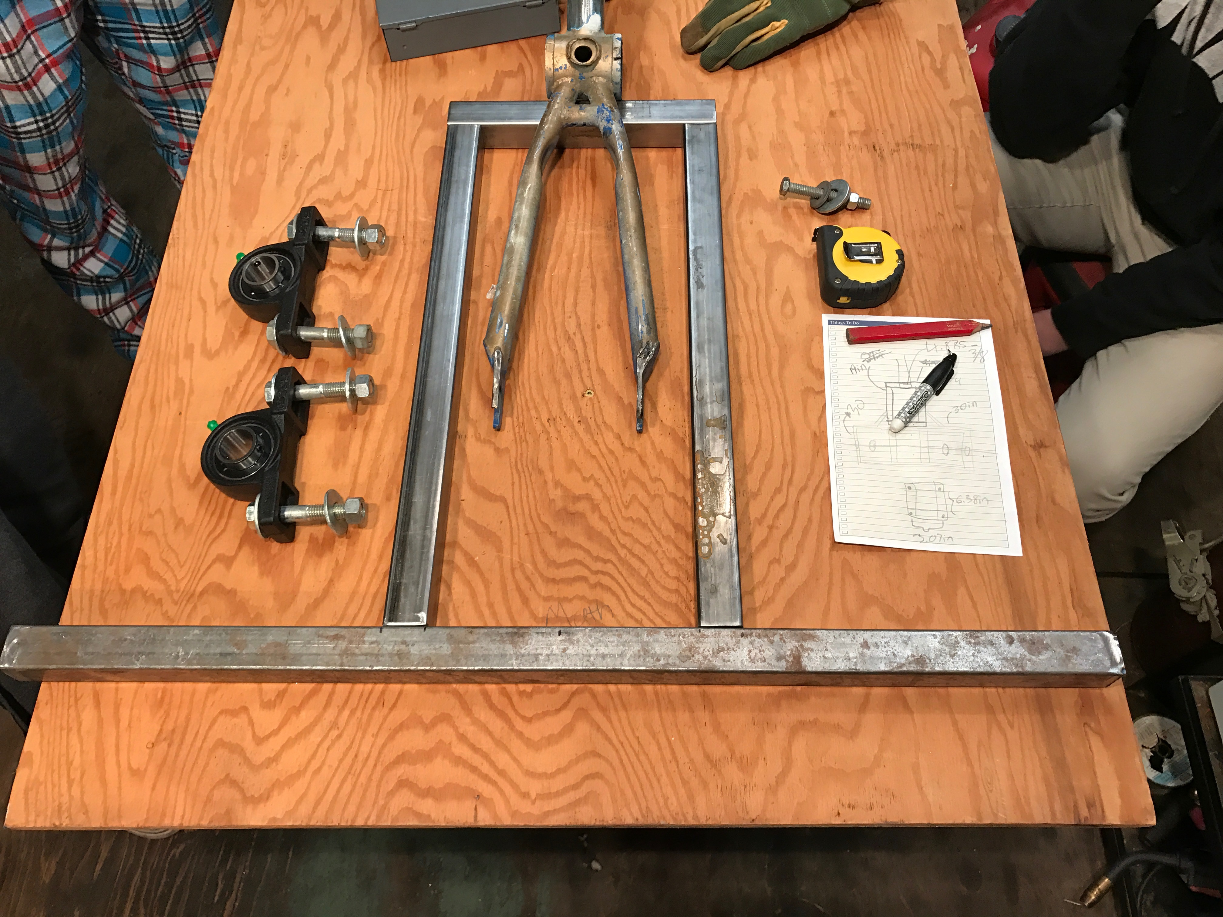 Picture of Base of the Frame