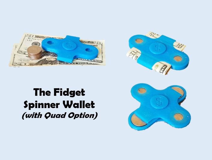 Picture of Spinner Wallet (I Made It at TechShop)
