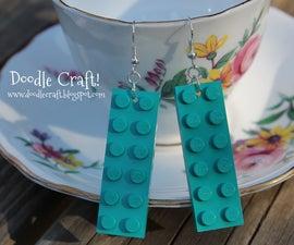 Custom Lego Earrings!