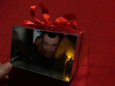 Die Hard Christmas Ornament