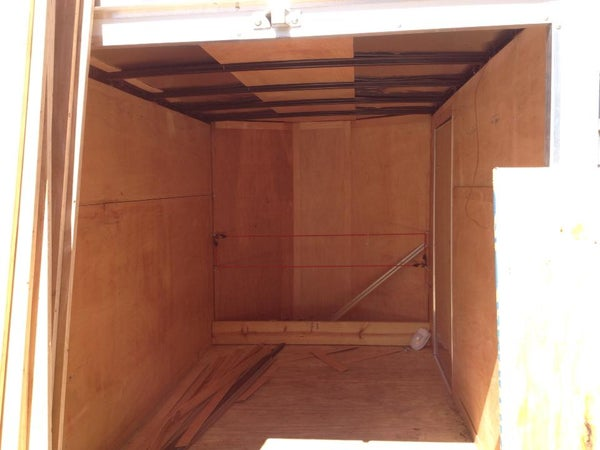 Portable Cargo Trailer Workshop