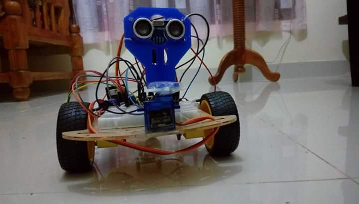 Picture of Obstacle Avoiding Robot (Arduino)