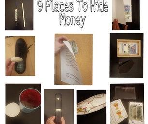 9 Places to Hide Money