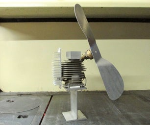 Heat-Powered Stove Top Fan W/ Salvaged Parts