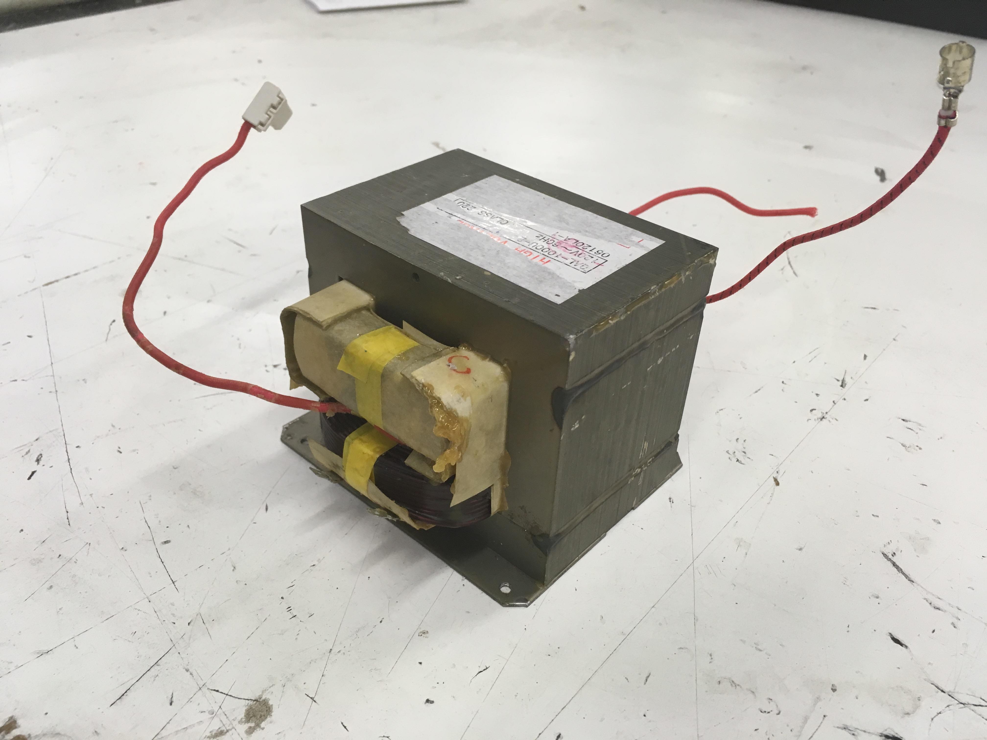 Picture of Remove the Transformer