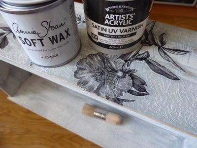 Adding Varnish And/or Wax