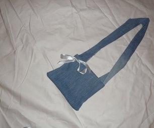 Simple Denim Hand/Shoulder Bag