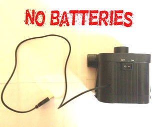 USB Powered Air Mattress Pump