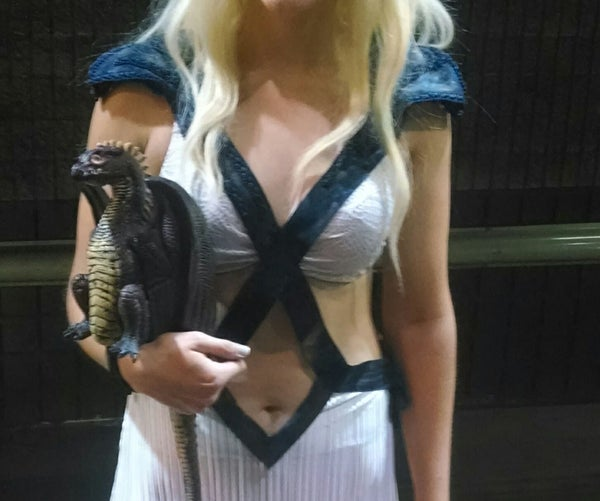 Daenerys Targaryen Game of Thrones Season 4 Costume