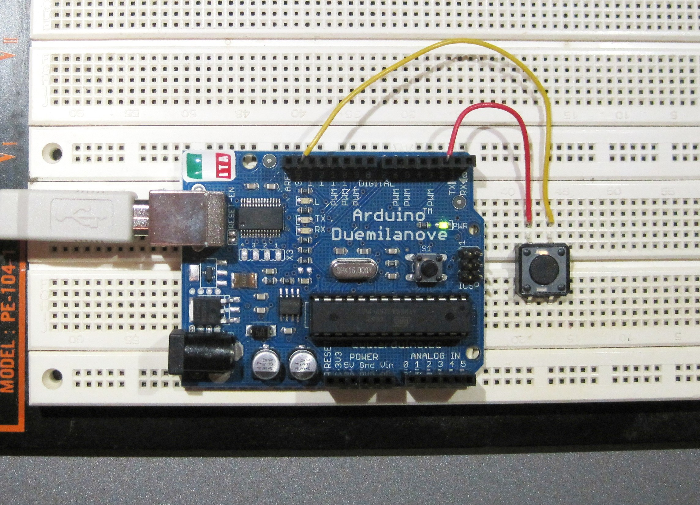 Picture of Arduino Button Tutorial
