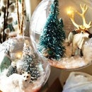 Snow Globe Ornaments- Arctic Theme