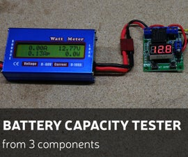 Battery Capacity Tester