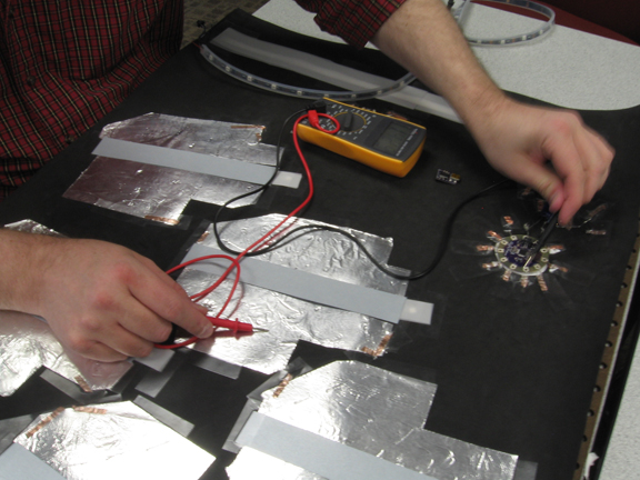 Picture of Wiring the Hand-Shapes and Switch