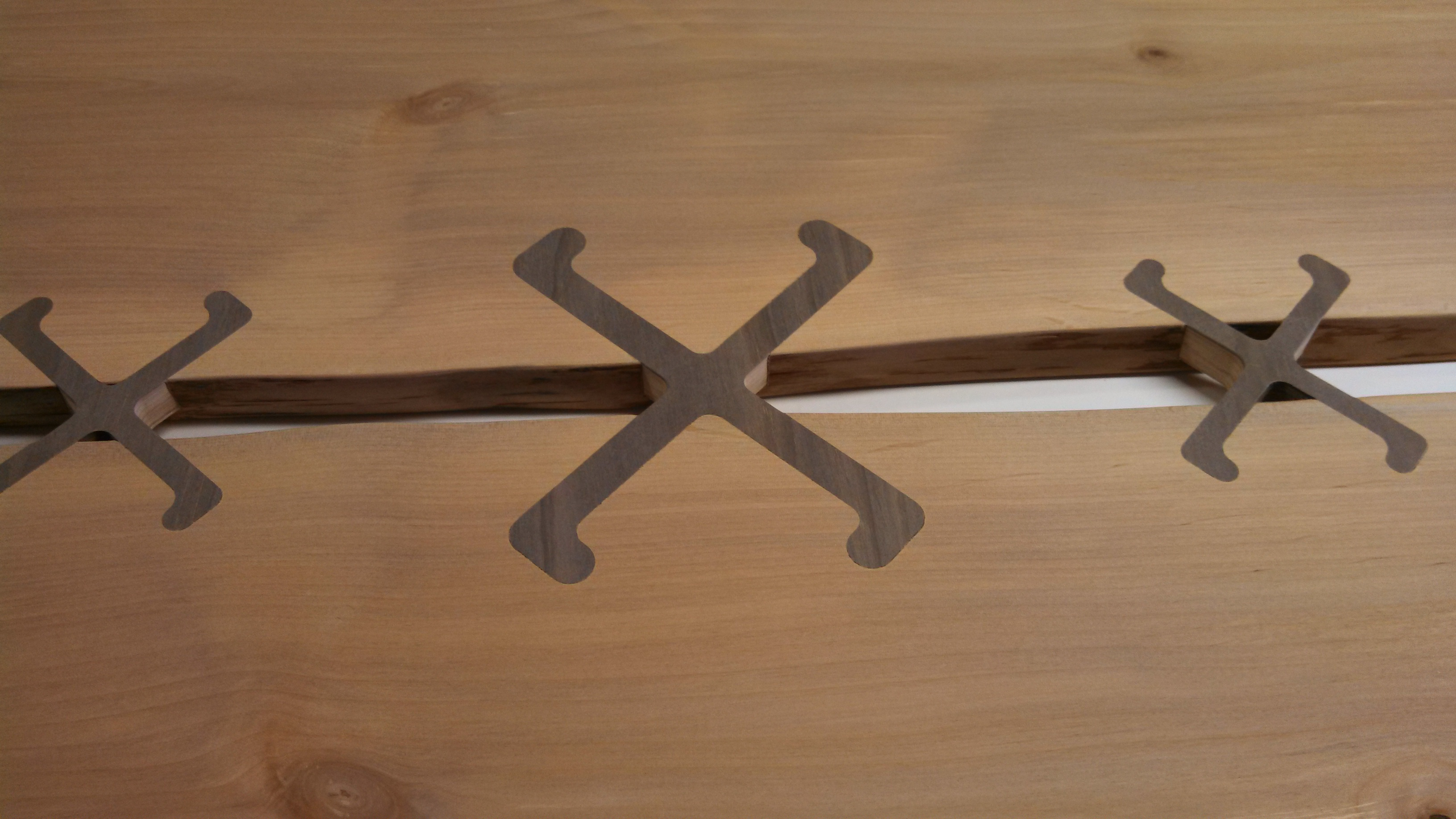 Picture of Cut the Inlays and Assemble Table Top