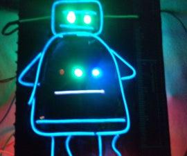 Instructables Logo:Electro-luminescent