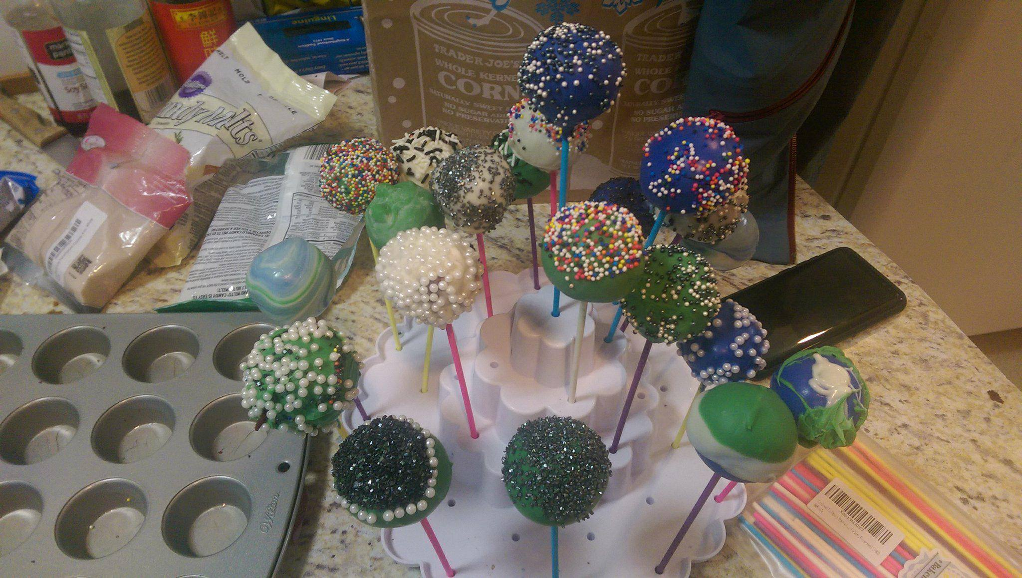 Picture of Cake Pops! a Second Iteration