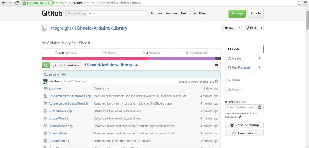 Picture of Download 1sheeld Library