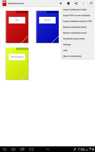 Import A Pdf As A Note In Lecturenotes On The Samsung Galaxy Note 10 1 14 Steps Instructables