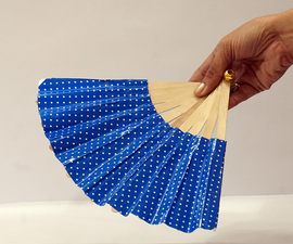 Beautiful and Easy Japanese Fan for Kids!