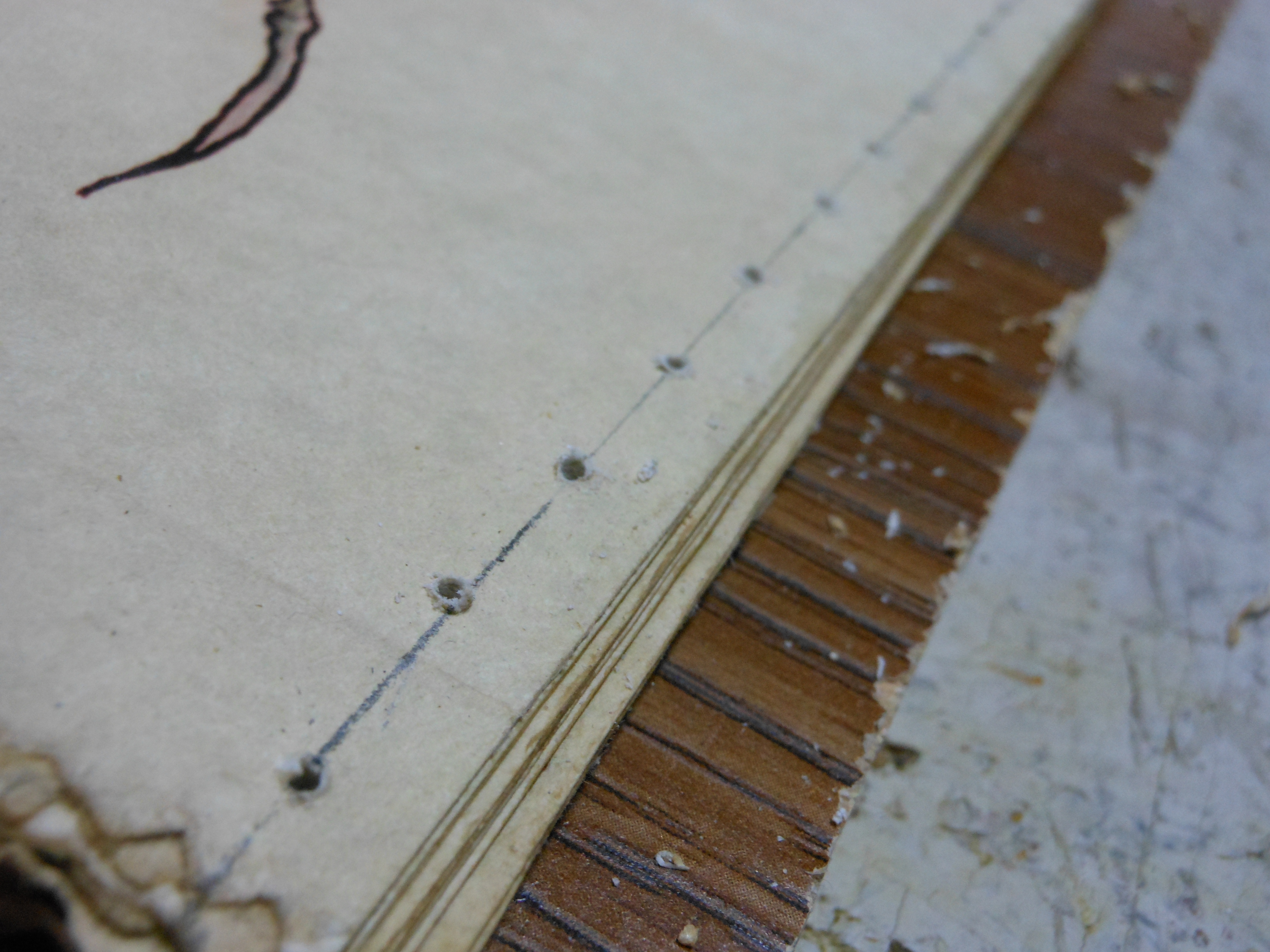 Picture of Binding With Thread