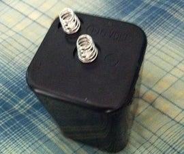 Uses inside a lantern battery