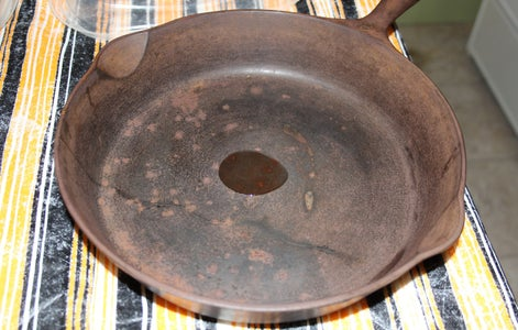 Grease Pan With Oil