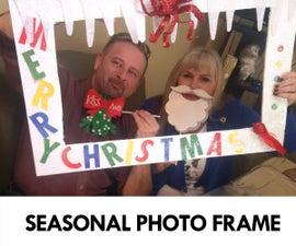 Seasonal Photobooth Frame