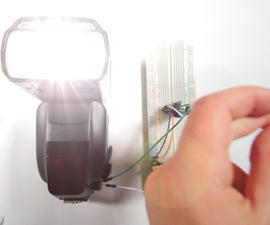 Sound Activated Camera Flash