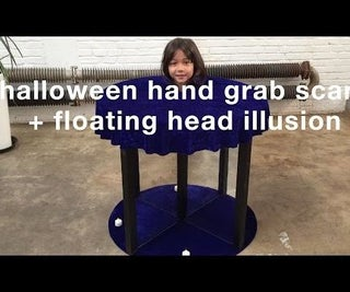 Halloween Hand Grab Scare / Floating Head Illusion