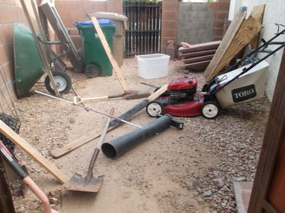 Side Yard Clean-up