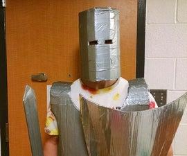 Cardboard Knight Costume