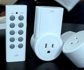 Etekcity Wireless Socket Hacks