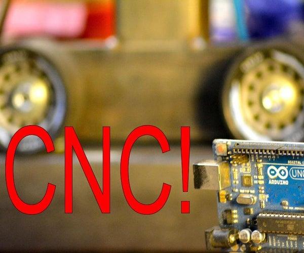 How to Make an Arduino Powered CNC Machine