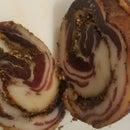 Apple-smoked Homemade Pancetta