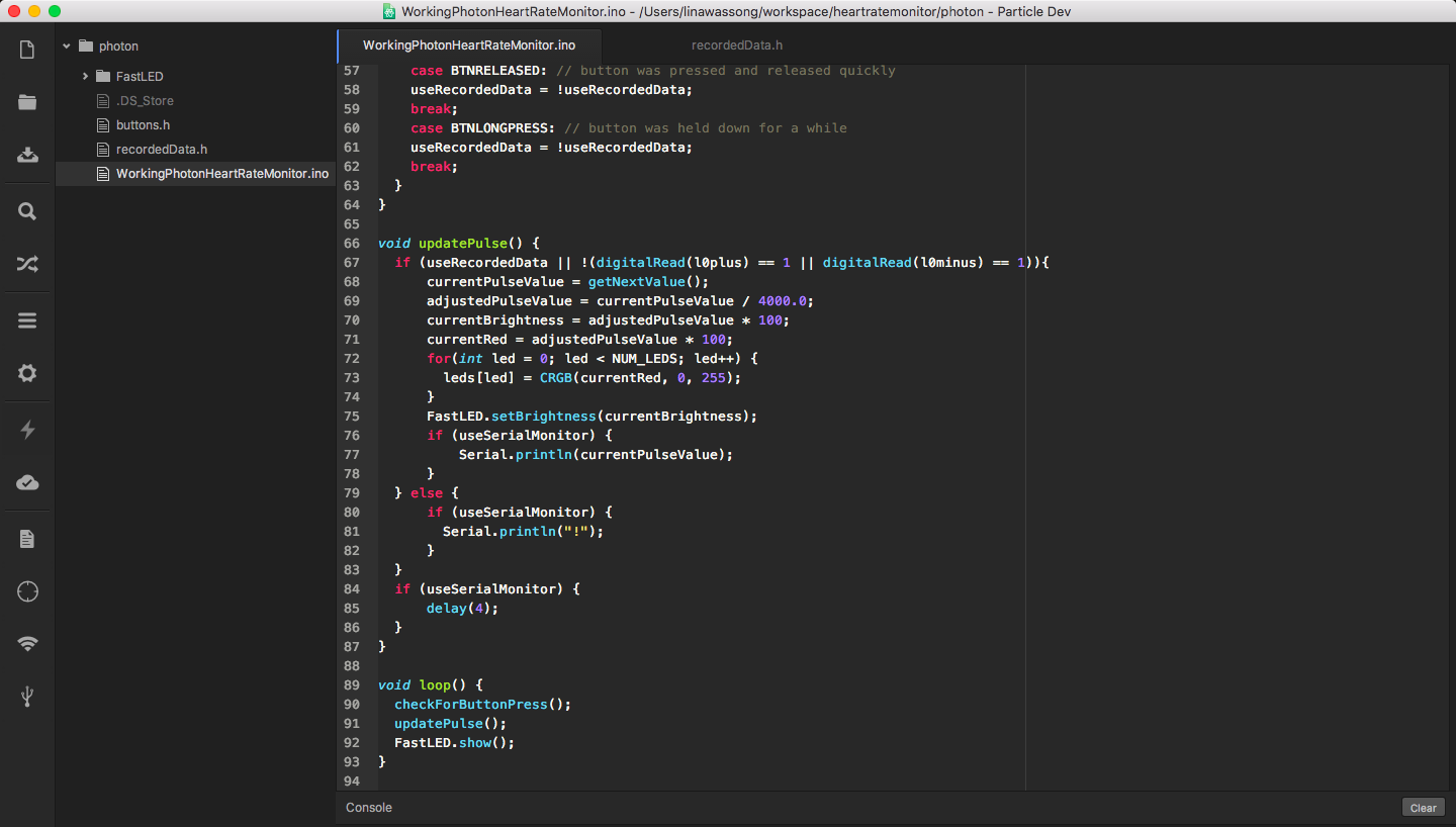 Picture of Modify and Upload the Code