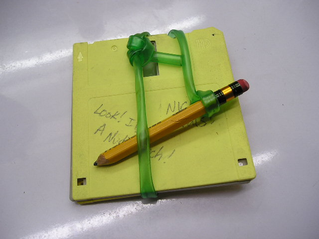 Picture of Wrap the Pencil Around the Slate