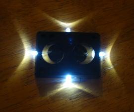 LED Skate board riser