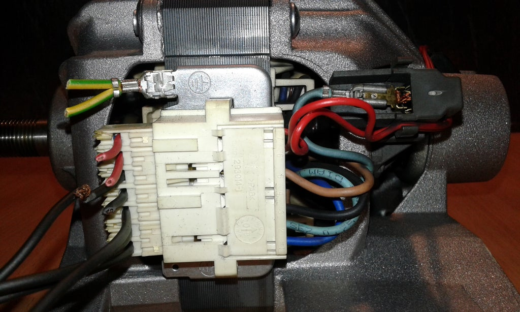 Washing Machine Motor Wiring Basics 3 Steps Instructables