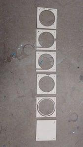 Laser Cut Acrylic Parts