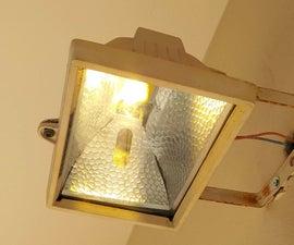 Retrofit a Incandescent 500W Flood Light to 50W LED