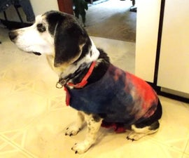 Easy Dog Coat Tutorial