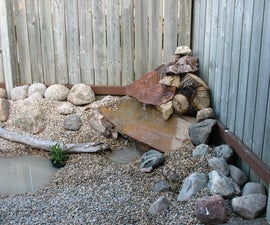 Create waterfall feature in your backyard