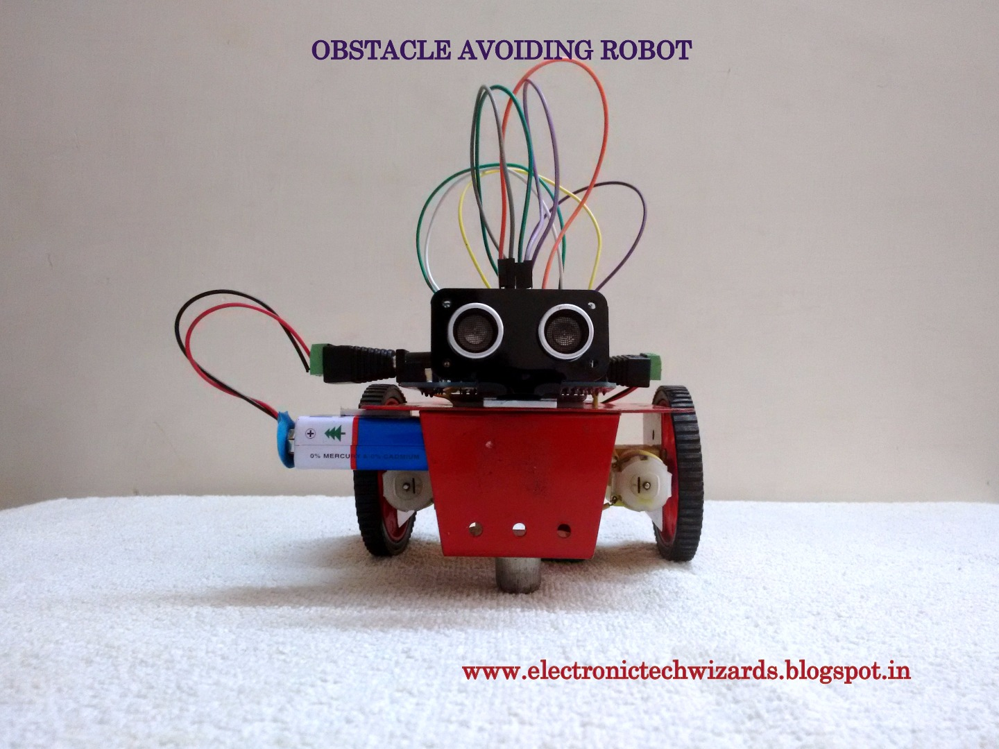 Picture of Obstacle Avoiding Robot Using Arduino