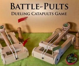 "Catapult Battle Game ""Battle-Pults"""