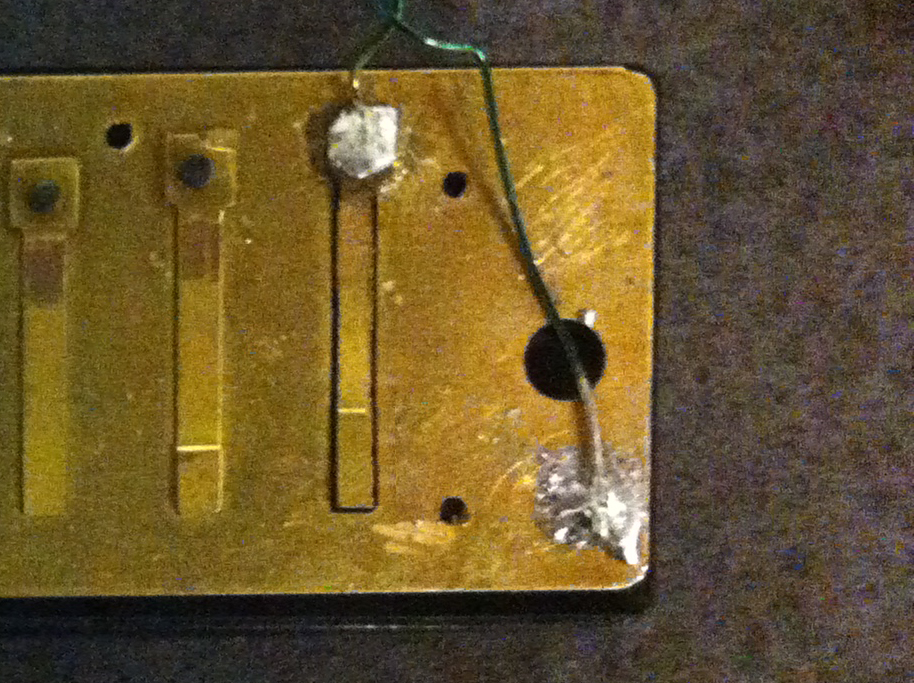 Picture of Attach Reeds and Wires to Plate