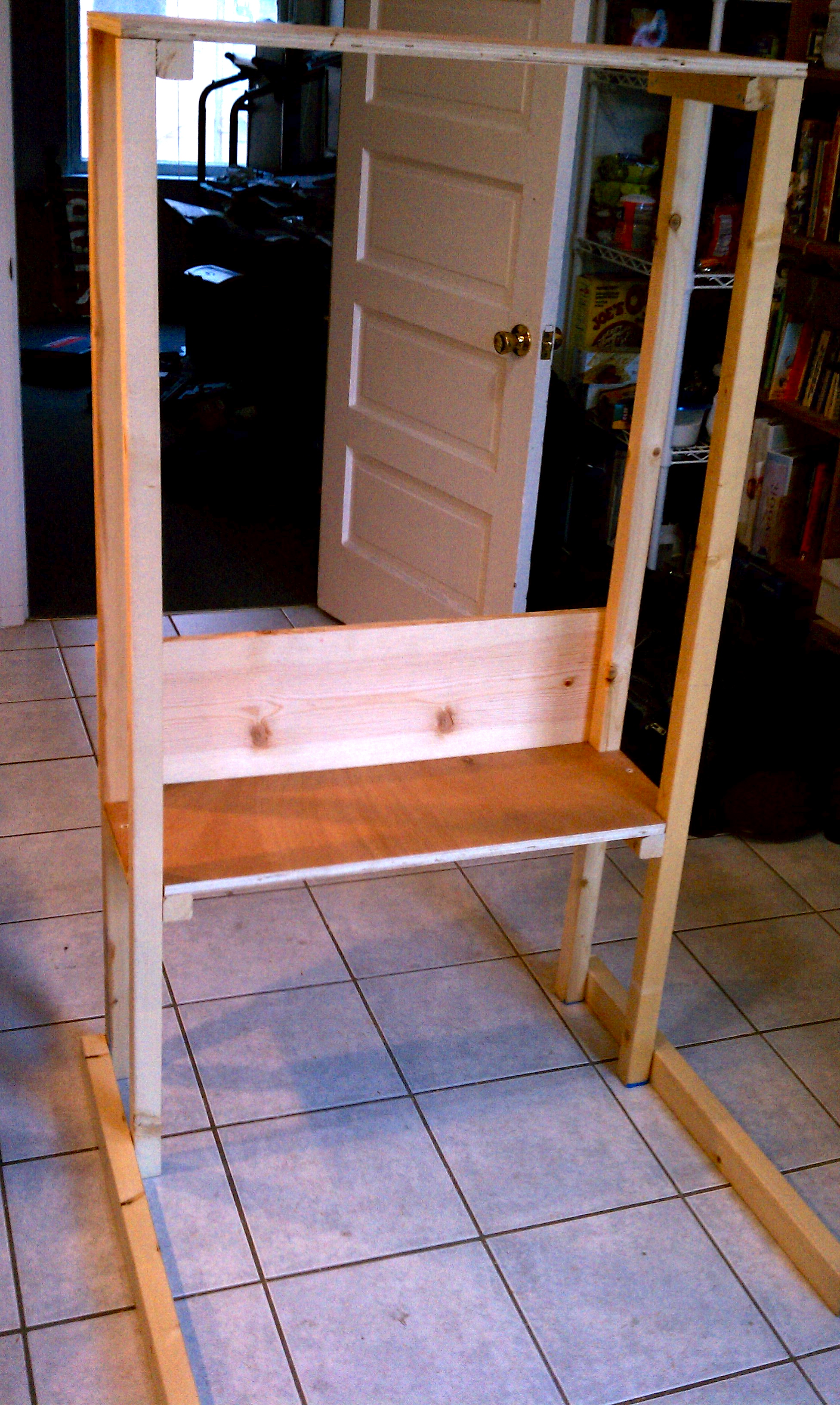 Picture of Measure, Calculate, and Plan the Freestanding Shelf