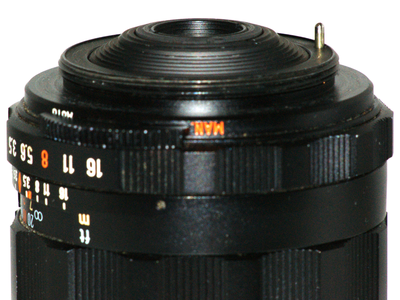 Switchable Automatic / Manual Apertures